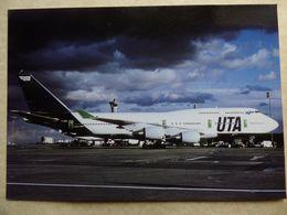 UTA   B 747-4B3    F-GEXA - 1946-....: Modern Era