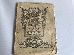 BULLETIN Des ARMÉES De La REPUBLIQUE N°239- 28 Mars 1917 - Guerra 1914-18