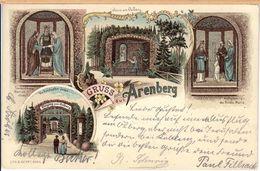 Litho Lithografie Arenberg (Koblenz) 1899 - Koblenz