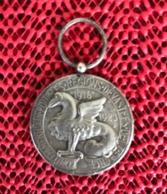 Très Rare Médaille Du Comité Américain Pour Les Régions Dévastées - Autres Collections