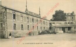 22.  PORTRIEUX SAINT QUAY .  Hôtel Villegia . - Saint-Quay-Portrieux