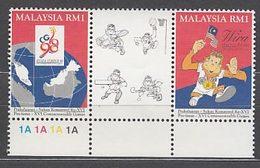 Malaysia - Correo Yvert 569/70 ** Mnh  Deportes - Maleisië (1964-...)