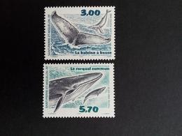 SAINT-PIERRE ET MIQUELON MI-NR. 791-792 POSTFRISCH(MINT) WALE 2000 BUCKELWAL FINNWAL - St.Pierre & Miquelon