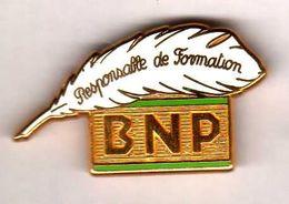 Pin's BNP Responsable Formation Zamac Ballard - Banche
