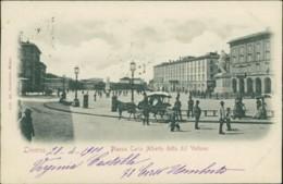 AK Livorno Piazza Carlo Alberto Detta Del Voltone (40014) - Livorno
