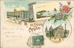 AK Un Saluto Da Catania (40034) - Catania
