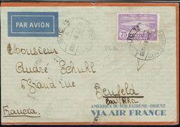 """Uruguay - 1930 - P. Aérienne N° 86 Seul Sur Env. De Montevidéo Via Air France, Pour Benfeld. Reservé Au Pseudo """"Jma05"""" - Uruguay"""