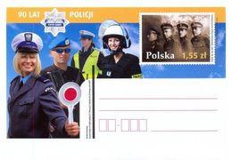 Cp 1502 Poland 90 Years Of Police 2009 - Politie En Rijkswacht