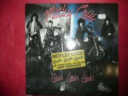 LP33 N°5064 - MOTLEY CRUE - GIRLS GIRLS GIRLS - 7559-60418-1 - Hard Rock & Metal