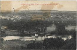 D78 - BONNIERES SUR SEINE - LE PONT ET VUE SUR GLOTON - Bonnieres Sur Seine