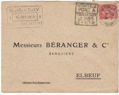 ESC Daguin Pont à Mousson 1929 - Marcophilie (Lettres)