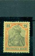 Deutsches Reich, Germania Nr. 73 Falz - Germany