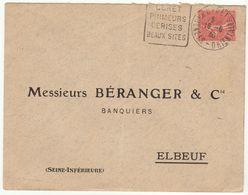 ESC Daguin Céret 1930 - Marcophilie (Lettres)