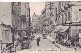 75 PARIS Rue Montenotte N°336 Façade épicerie - Arrondissement: 17