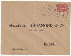 ESC Daguin Concarneau 1930 - Marcophilie (Lettres)