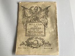 BULLETIN Des ARMÉES De La REPUBLIQUE N°245 - 9 Mai 1917 - Guerra 1914-18