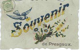 Souvenir De PRESGAUX - E.D. Cartes En Gros, Chimay (Douniau) - Cachet De La Poste 1909 - Couvin
