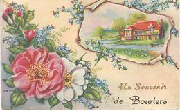 Un Souvenir De BOURLERS - Cachet De La Poste 1965 - Chimay