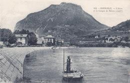 Grenoble (38) - L'Isère Et Le Casque De Néron - Barque - Grenoble
