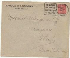 ESC Daguin Sens 1930 - Marcophilie (Lettres)