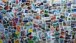 France, Lot De 220 Timbres Oblitérés Autocollants. - Lots & Kiloware (mixtures) - Max. 999 Stamps