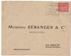 ESC Daguin Saint Servan Sur Mer 1929 - Marcophilie (Lettres)