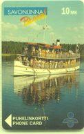 Finland Phonecard SAVONLINNA D13c - Finland