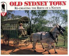 (A 36) Australia - NSW - Gosford - Old Sydney Town (Transport In Colonial Time) - With Stamp - Altri