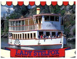 (A 36) Australia - TAS - Lady Stelfox River Ship (Launceston) - Lauceston