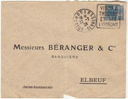 ESC Daguin Thouars 1929 - Postmark Collection (Covers)
