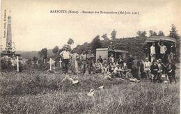 Carte  POSTALE  Ancienne De  MARBOTTE - Souvenir Des Exhumations De Mai /Juin 1921 - Andere Gemeenten
