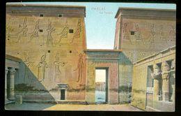 EGYPT * CPA *  POSTCARD * PHYLAE *  LE TEMPLE  (2) - Egypte