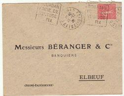 ESC Daguin Dourdan 1928 - Marcophilie (Lettres)