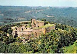 67 - Lichtenberg - Vue Aérienne - Le Château, Dont Le Donjon Date Du XIIIe Siècle - France