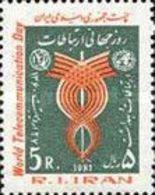 MNH STAMPS Iran - World Telecommunication Day    -1981 - Iran