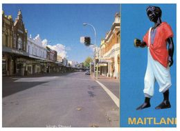 (A 36) Australia - NSW - Maitland High Street / Blak Boy Statue - Altri