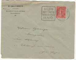 LSC Daguin Villers Sur Mer 1930 - Marcophilie (Lettres)