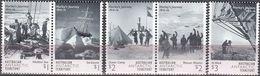 Antarctic. AAT 2016. Hurley's Journey 1914-16. 5v MNH.27930 - Nuevos