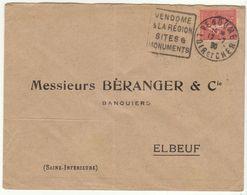 LSC Daguin Vendôme 1930 - Marcophilie (Lettres)