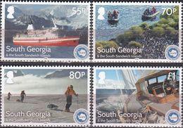 Antarctic.- South Geurgia 2016. Ships. MNH.27933 - Timbres