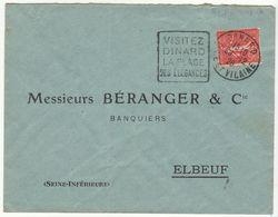ESC Daguin Dinard 1926 - Marcophilie (Lettres)