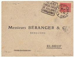 ESC Daguin Falaise 1927 - Marcophilie (Lettres)