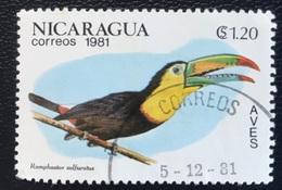 Nicaragua - A1/30 - (°)used - 1981 - Birds - Vogels - Michel Nr. 2218 - Nicaragua