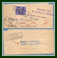 Bande Journal Besny Et Loisy ( Aisne 02 ) Type B7 1961 / Préo 119 > Retour Envoyeur Journaux - Periódicos