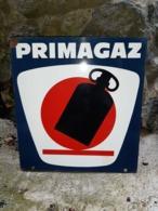 Plaque PRIMAGAZ - Enameled Signs (after1960)