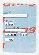 Instapkaart-boarding Pass Amsterdam - Boarding Passes