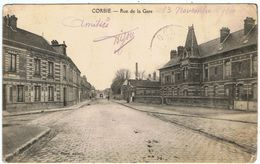 Corbie / Rue De La Gare  / 1914 / Ed. Vve Grare / Etat ! - Corbie