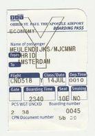 Instapkaart-boarding Pass TAV Ohrid Macedonie - Boarding Passes