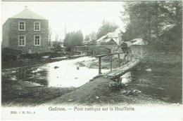 Gedinne. Pont Rustique Sur La Houillette. - Gedinne