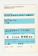 Instapkaart-boarding Pass Antalya Türkiye - Boarding Passes